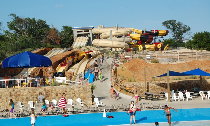 Splash Kingdom Family Waterpark - Amarillo: Visit and #1 Combo Meals for Two or Four at Splash Kingdom Family Waterpark (Up to 35% Off)