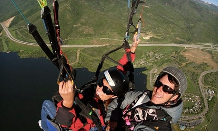 River Valley Paragliding - Arkoma: $120 for an Introductory Paragliding Class at River Valley Paragliding ($400 Value)