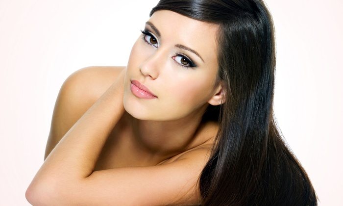 Shannon at Sola Salon - Sola Salon: $65 for Keratin Hair Smoothing Treatment from Shannon at Sola Salon ($250 Value)