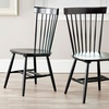 $99 for Two Colored Oak Spindle Chairs