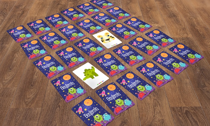 Dinkleboo: One or Two Personalized Memory Game Sets from Dinkleboo (Up to 62% Off)