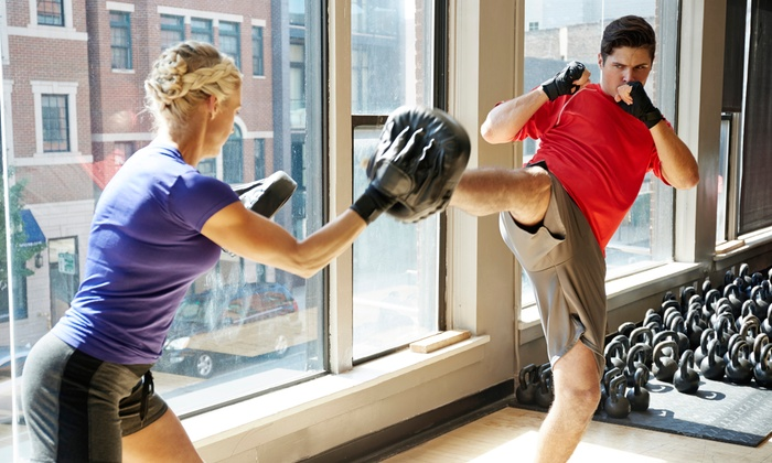 Raleigh Institute of Martial Arts - Multiple Locations: Five or Ten Kickboxing Classe at Raleigh Institute of Martial Arts (Up to 56% Off). Two Options Available.