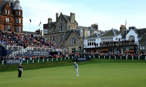 Alfred Dunhill Links Championship: Alfred Dunhill Links Championship: Early Bird or Standard Tickets, 9 October, St Andrews (Up to 75% Off*)