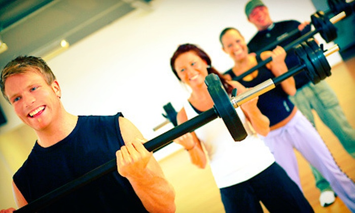 Pinacle Health & Fitness - Multiple Locations: 10 or 20 Fitness Classes at Pinacle Health & Fitness (Up to 75% Off)