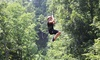 Mammoth Cave Adventures - Cave City: $79 for a Zipline Canopy Tour for Two with Action Photos at Mammoth Cave Adventures ($135.68 Value)