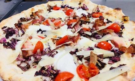 Menu pizza con vino o birra a 19,90euro