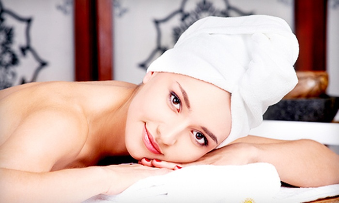 Younger Images - Pinewood: Spa Package with Facial, Massage, and Body-Slimming Wrap or Salt Scrub at Younger Images (Up to 65% Off)