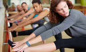 The Hot Yoga Barre: Two Yoga Barre Classes at The Hot Yoga Barre (70% Off)