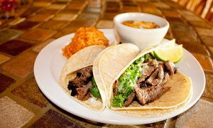 Serrano's Mexican Grill: $12 for $20 Worth of Tacos, Tortas, and Ceviche at Serrano's Mexican Grill