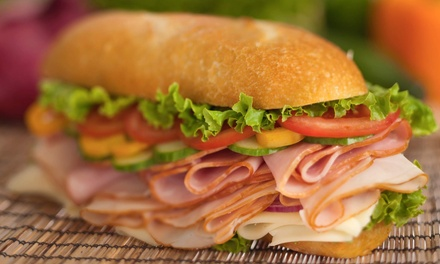 $12.50 for $25 Worth of Sandwiches and Deli Food at Tony Baloney's Submarine Shops