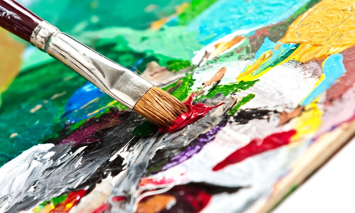 painting class for one or two at ann bridges art studio up to 59 off