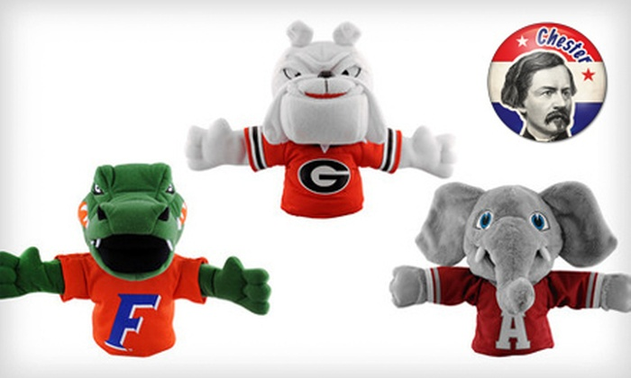 Bleacher Creature Mascot Hand Puppets: $15 for a National Sports Bleacher Creature Mascot Hand Puppet ($21.99 List Price). 25 Teams Available. Free Shipping.
