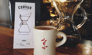 Corvus Coffee: Coffee Tasting and Brewing Class at Corvus Coffee Roasters (45% Off). Four Options Available.