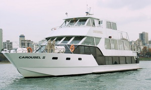 Accent Cruises: Afternoon-Tea or Dinner Boat Cruise of Granville Island for Two or Four from Accent Cruises (Up to 50% Off)