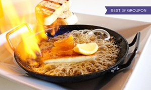 Tarla  Bar + Grill: Lunch or Dinner for Two or Four at Tarla Grill (Up to 35%Off)