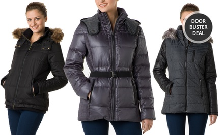 Kensie Women's Polyfill Down Jackets. Multiple Styles from $55.99–$69.99. Free Returns.