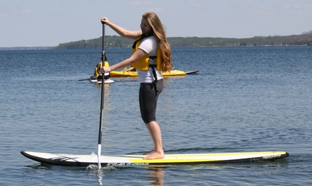 Kayak or SUP Rental for One or Two from Fontana Paddle Company (Up to 44% Off)