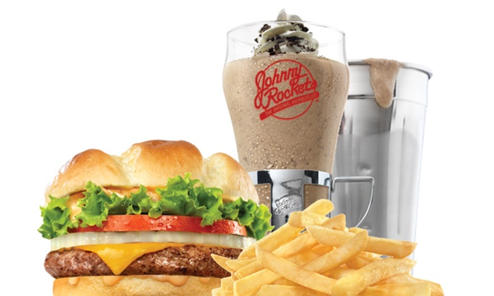 Johnny Rockets Mall of America - Downtown West: Burgers and Diner Food for Two or Four at Johnny Rockets Mall of America (Up to 38% Off)