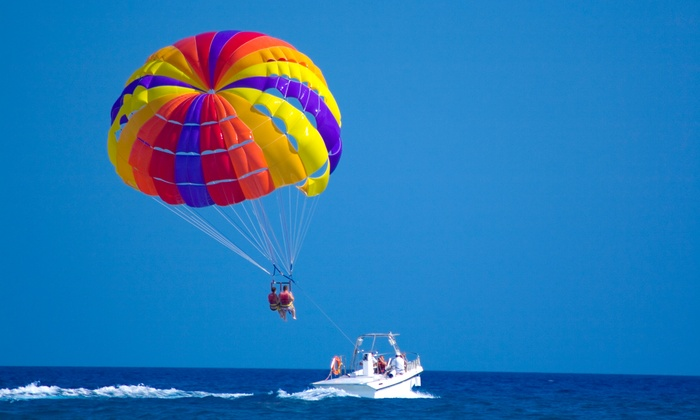 X-Treme Parasail - Honolulu: $75 for a Tandem Parasail Ride for Two from X-Treme Parasail ($150 Value)