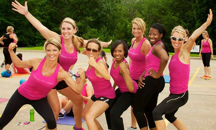 Texas Fit Chicks Boot Camp - Multiple Locations: $49 for a Four-Week Fitness Boot Camp and 30-Day Meal Plan at Texas Fit Chicks Boot Camp ($159 Value)