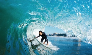 Malibu LongBoards Surf School: Two-Hour Surfboard and Wetsuit Rental or Two-Hour Surfing Lesson at Malibu LongBoards Surf School (Up to 58% Off)