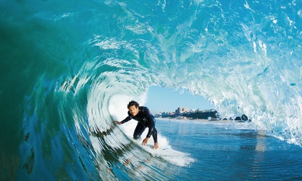 Two-Hour Surfboard and Wetsuit Rental or Two-Hour Surfing Lesson at Malibu LongBoards Surf School (Up to 58% Off)