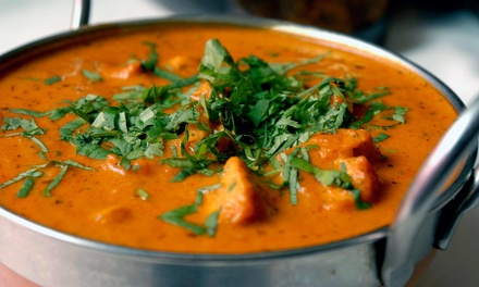 Dinner or Lunch for Two or More at Mela Indian Bar & Grill (45% Off)