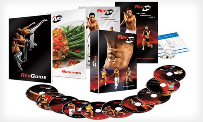 RevAbs 90-Day DVD Workout Program: $29 for the RevAbs 90-Day Six-Pack Ab Solution DVD Workout Program ($89 List Price). Shipping Included.