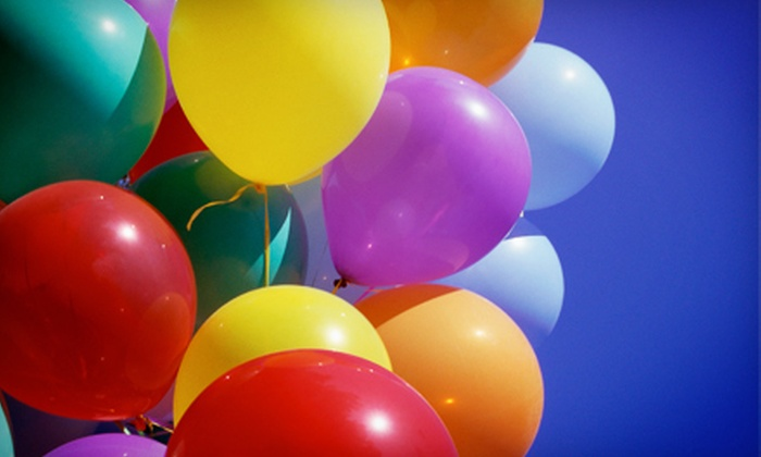 Balloons N More - South Farmingdale: Balloon-in-a-Box Bouquet or $20 for $40 Worth of Balloons from Balloons N More