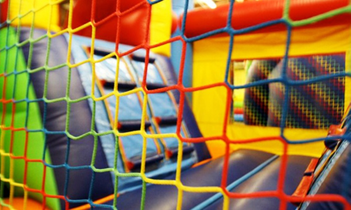 Leapin' Lizards - Downtown: Two or 10 Play-Center Outings for Ages 2 and Younger or Ages 3–10 at Leapin' Lizards in Decatur (Half Off)