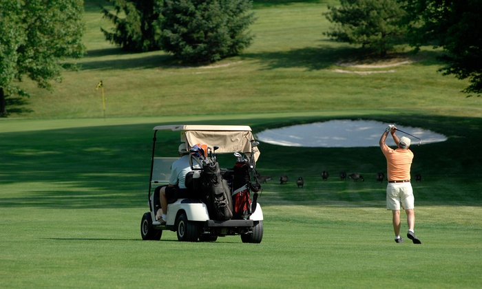 Purple Hawk Country Club - Cambridge: 18 Holes of Golf for Two or Four with Cart at Purple Hawk Country Club (Up to 53% Off)