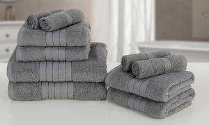 Lot 10 serviettes coton 500 gsm