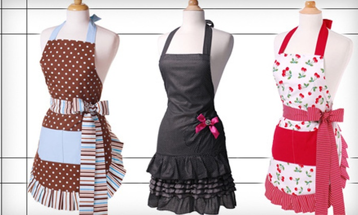 Flirty Aprons: Flirty Aprons for Women (57% Off). 11 Styles Available.