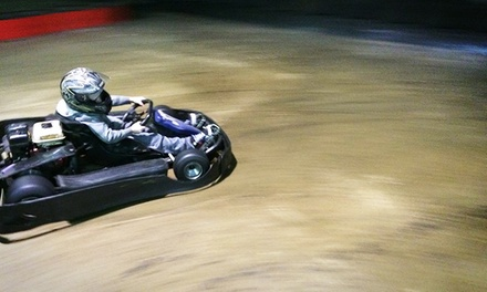 10-Minute Go-Kart Races or a Birthday Party for Five at Sadlers Indoor Racing (Up to 40% Off)