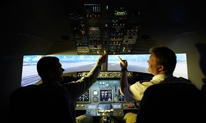 Jet Flight Simulator: Jet Flight Simulator Experience - 30 ($79), 60 ($109) or 90 Minutes ($179), Alexandria (Up to $399 Value)