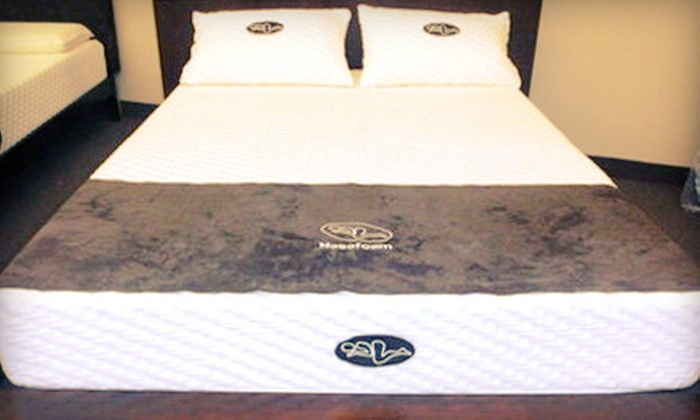 Nasafoam: Twin-, Double-, Queen-, or King-Size Original or Deluxe Memory-Foam Mattress Plus Shipping from Nasafoam (Up to 74% Off)