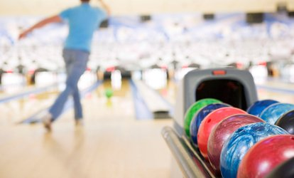 image for Two Hours of <strong>Bowling</strong> with Shoe Rental for Two, Four, or Six at Emerald Bowl (Up to 62% Off)