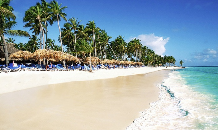 Natura Park Beach EcoResort Stay with Airfare from Travel by Jen - Punta Cana, Dominican Republic: ✈ All-Inclusive Stay at Natura Park Beach w/Air & Transfers. Incl. Taxes & Fees. Price/Person Based on Double Occupancy.