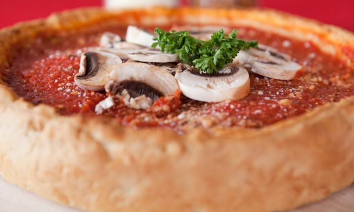 Al's Pizza Chicago - Portage Park: Pizza, Pasta, and Sandwiches at Al's Pizza Chicago (Up to 52% Off). Two Options Available.