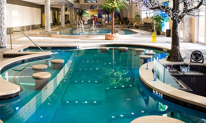 King Spa & Sauna -  King Spa & Waterpark :  $23 for Full Access, Including Indoor Water-Park Attractions, at King Spa & Sauna ($45 Value)