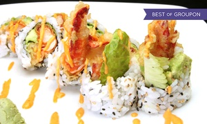 Yotsuba - Ann Arbor: $27 for $40 Worth of Sushi, Japanese Cuisine, and Drinks at Yotsuba Ann Arbor Location