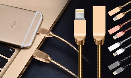 1, 2 o 3 cables de aleación de zinc para iPhone, disponibles en diferentes colores
