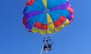 Island Style Parasail: Parasail Ride for Two at Island Style Parasail (Up to 46% Off). Two Options Available.