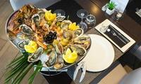 """Plateau de fruits de mer """" La Chaloupe"""" ou la Goelette"""" pour 2 personnes dès 54 € au Restaurant lAlcyon"""