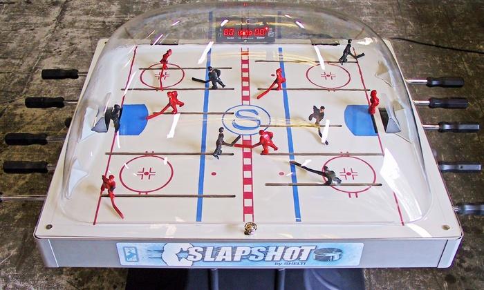 Shelti SlapShot Dome Hockey Table