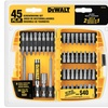 DeWalt Screwdriving Set (45-Piece) and Right-Angle Attachment