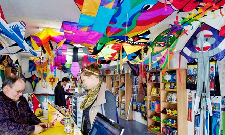 $10 for $20 Worth of Toys, Kites, and Wind-Related Decor at Wings of the Wind Kites & Toys