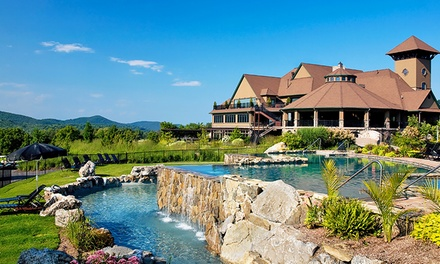 Stay at Grand Cascades Lodge in Hamburg, NJ; Dates into June.
