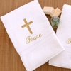 2-Piece 700 GSM Turkish Cotton Hand Towels