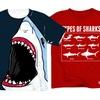 Kidteez Youth Shark T-Shirts